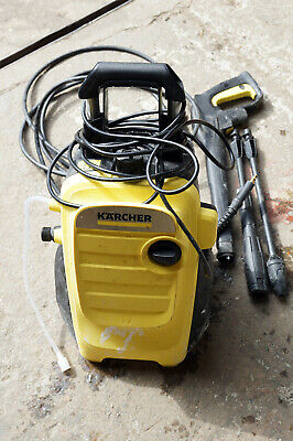Karcher K4 Compact Pressure Washer Car Garden Water Cleaner 6m Hose FAULTY