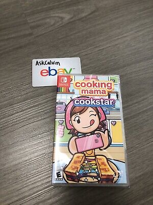 Cooking Mama Cookstar Nintendo Switch BRAND NEW Sealed In Hand English Version