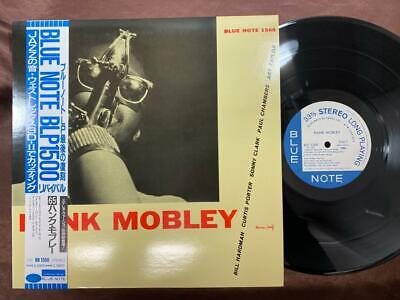 MINT! HANK MOBLEY SAME BLUE NOTE BLP 1568 OBI STEREO JAPAN Vinyl LP