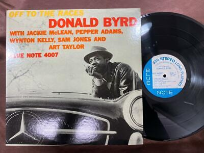 Donald Byrd Off To The Races Blue Note Gxk 8030 Stereo Japan Vinyl Lp
