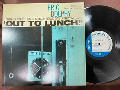Eric Dolphy Out To Lunch Blue Note Gxk 8046 Stereo Japan Vinyl Lp