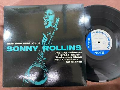 Mint! Sonny Rollins Vol. 2 Blue Note Blp 1558 Mono Japan Vinyl Lp