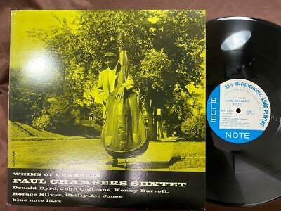 Paul Chambers Whims Of Chambers Blue Note Gxk 8018 Mono Japan Vinyl Lp