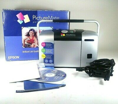 Epson Picture Mate Personal Photo Lab Home Picture Printer Model B271A ~ Bundle