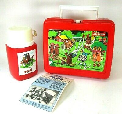Little Debbie Snack Cakes Thermos Lunchbox Vintage Collectible Great Condition