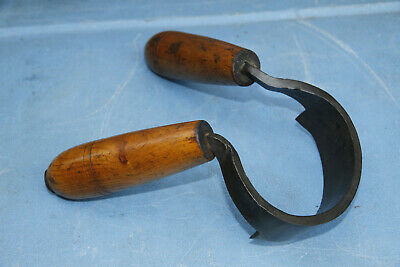 Antique/Vintage Marples Coopers Round Draw Knife. Awesome old tool