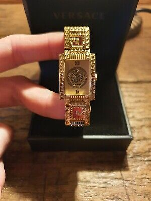 Gianni Versace Gold Plated Ladies Watch Swiss