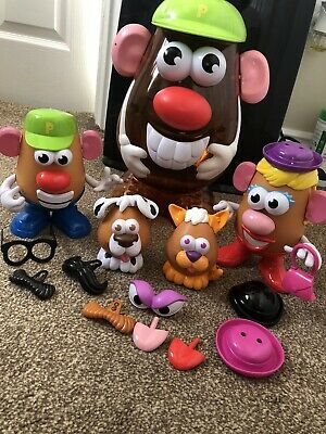 Hasbro Toy Story Mr Potato Head Bundle With Large Potato Head Storage Container