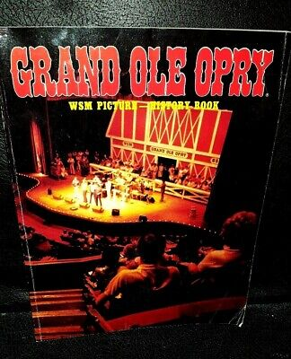 Grand ole Opry, history book