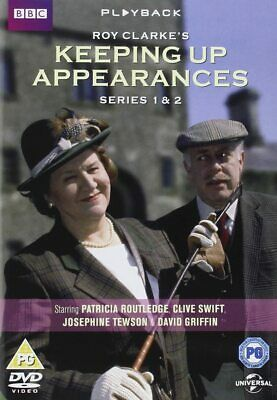 Keeping Up Appearances Series 1 & 2     [DVD]   New!