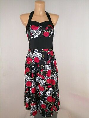 VTG STYLE PINUP Roses Boned Zip Corset Panty Corselette All