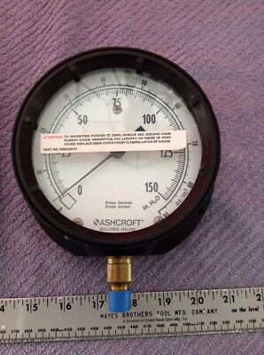 Ashcroft Bellows Gauge 45-1379 New No Box