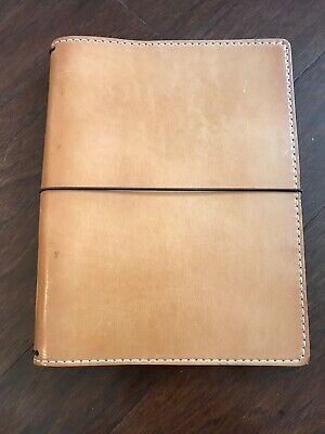 Chic Sparrow travelers notebook Travellers Mr. Darcy Austen Butter Rum A5 Deluxe