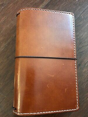 Chic Sparrow travelers notebook TN Deluxe Mr. Darcy Toffee Personal Austen