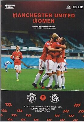 Manchester United v Chelsea Postponed 2019-20 FA Womens Super League