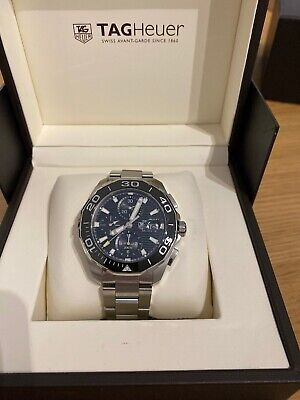 Tag Heuer Aquaracer Calibre 16 Day-Date Chronograph 43MM CAY211A.BA0927