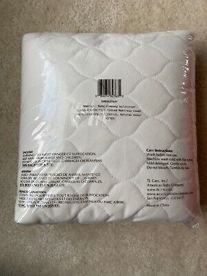 American Baby Company NEW Waterproof Quilted Crib Fitted Mattress Cover ORGANIC