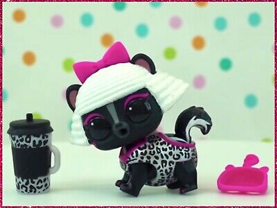 LOL Surprise DIVA STRIPES Fuzzy Pets Makeover Series 5 Wave 2 Baby Doll NEW VHTF