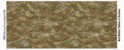Camouflage Tiger Stripe Jungle Green Waterslide Decals 1//18 scale figures