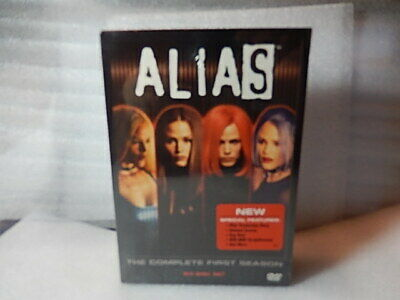 ALIAS - The Complete First Season (DVD, 2009, 6-Disc Set) SEALED, BRAND NEW