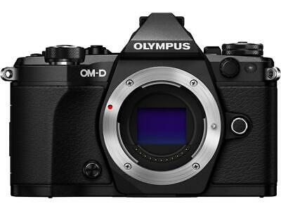 "OLYMPUS OM-D E-M5 Mark II V207040BU000 Black 16.1 MP 3.0"" LCD Mirrorless Micro F"