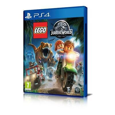 PS4 LEGO Jurassic World Videogame Sony Play Station 4 gioco nuovo