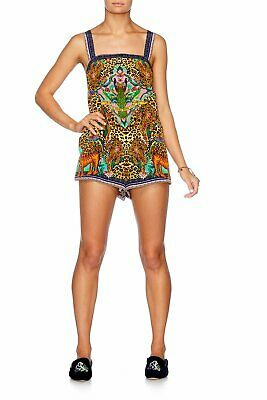 Camilla Franks Jungle Book Shift Halter Playsuit Xs