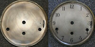 "Vintage 6"" clock face/dial Elegant Arabic numeral number renovation wet transfer"