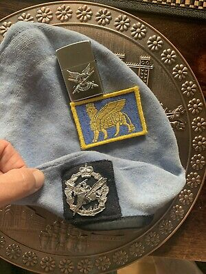 Australian Army Air Corps' ( Aviation)  Beret ' Plaque ' Zippo & Patch' All Iraq