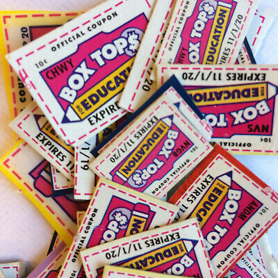50 Box Tops for Education - pretrimmed BTFEs none expired 11/1/20 - 3/1/23 BTEs