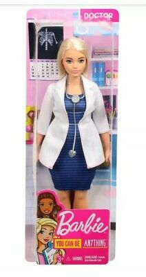 Barbie Careers Doctor Doll Blonde Hair with Stethoscope You Can Be Anything