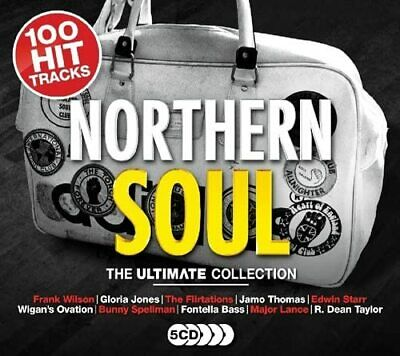 NORTHERN SOUL THE ULTIMATE COLLECTION 5 CD SET (100 Hit Tracks) (Released 2018)