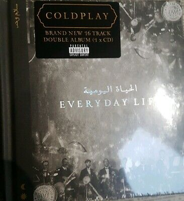 COLDPLAY EVERYDAY LIFE CD ALBUM (New Release November 22nd 2019) sealed