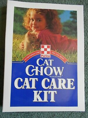 Vintage 1994 Purina Cat Chow Care Kit