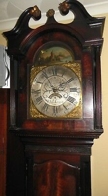 Georgian Longcase, Grandfather Clock c1790 by Bloodworth (Whitehaven) Long Case