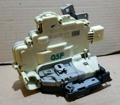 Vw Passat B6 B7 Front Right Door Lock Mechanism Driver Side Osf 3C2837016A  11