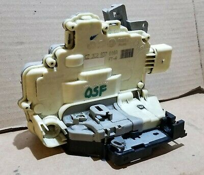Vw Passat B6 B7 Front Right Door Lock Mechanism Driver Side Osf 3C2837016A  22