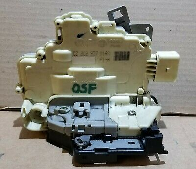 Vw Passat B6 B7 Front Right Door Lock Mechanism Driver Side Osf 3C2837016A  44
