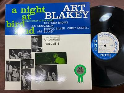 Art Blakey Night At Birdland Vol. 1 Blue Note Lnj-70091 Mono Japan Lp
