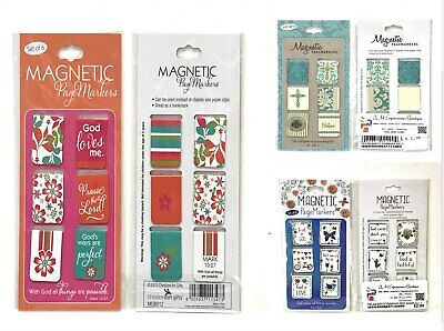 Magnetic Mini Page Markers (Set of 6)