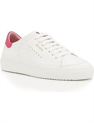 WORN ONCE Gorgeous Axel Arigato Leather Sneakers White Pink 38