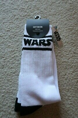 STAR WARS *COLLECTOR* SOCKS NEW 'Lucas Films Authorised Product' One Size