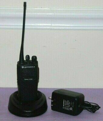 Motorola Radius CP200 UHF Portable Radios With Accessories -- Great Condition
