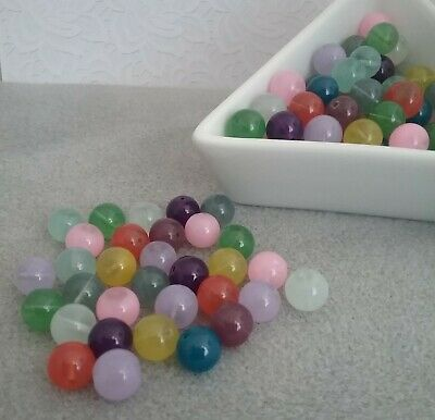 ❤ 8mm Candy Jade Beads ❤ Summer Mix ❤ PROMO SEE ITEM DESCRIPTION ❤
