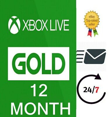 XBOX LIVE GOLD MEMBERSHIP KEY🔑 1 - 3 - 6 - 12 Month VPN ACTIVATION REQUIRED
