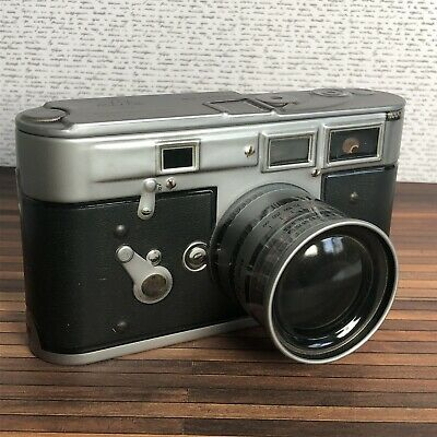 Vintage camera style tin- accessories storage, gift box