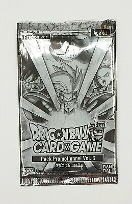 Booster Pack Promotionnel Vol.2 de tournoi DRAGON BALL SUPER CARD GAME FR