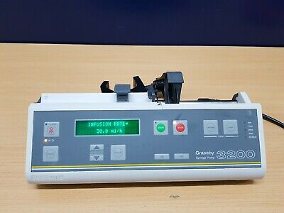 Graseby 3200 syringe pump infusion driver