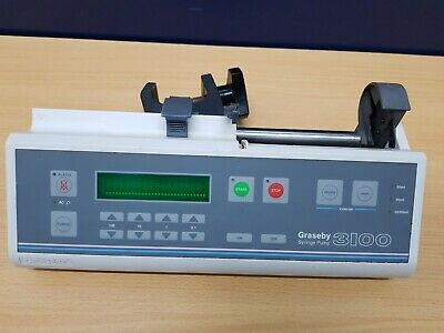 Graseby 3100 Syringe infusion Pump driver with pole clamp