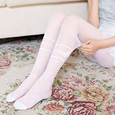 Kid Pantyhose Girl Tights Bow Tights Kids Ballet Anti-Mosquito Clothing Chic